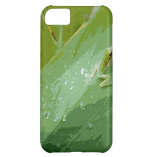 Bejeweled Green Frog iPhone 5C Cases