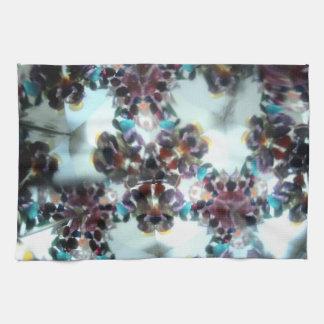 Bejeweled Kaleidescope 11 Kitchen Towel