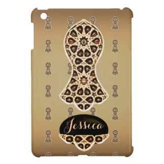 Bejeweled Sandal of The Prophet (Golden) iPad Mini Covers