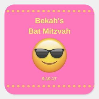 Bekah's Bat Mitzvah Square Sticker