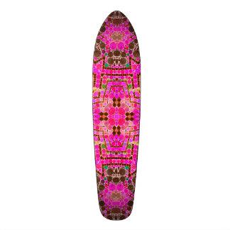 Bel abrégé sur fou rose skateboard 20,6 cm