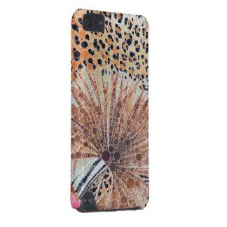 Bel abrégé sur rose de léopard coque iPod touch 5G
