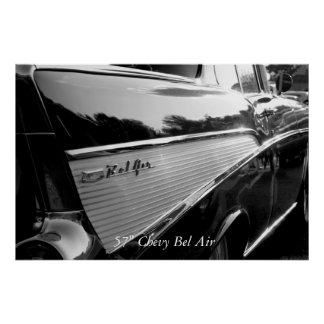 """Bel Air, 57"""" Chevy Bel Air Poster"""