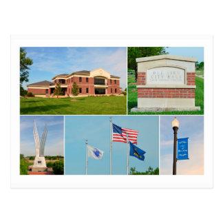 Bel Aire, Kansas, City Hall Postcard