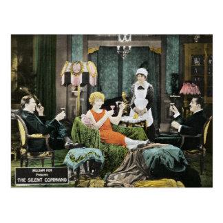 Bela Lugosi - The Silent Command Postcard