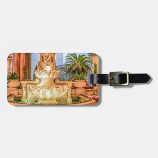 Belagio Las Vegas Nevada Fountain Resort Hotel Luggage Tag