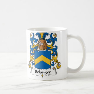 Belanger Family Crest Coffee Mug