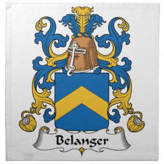 Belanger Family Crest Napkin