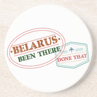 Belarus Been There Done That Drink Coaster