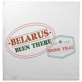 Belarus Been There Done That Napkin