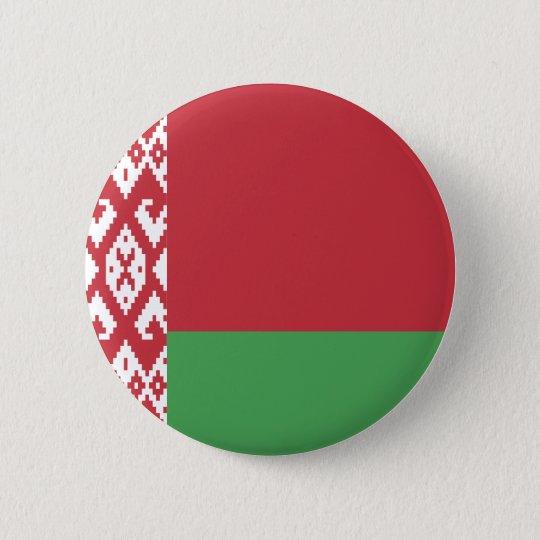 Belarus Flag 2 Inch Round Button