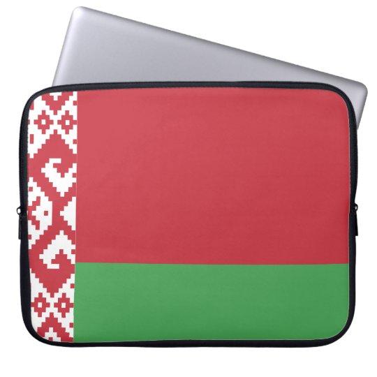 belarus-flag.ai laptop sleeve