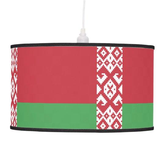 belarus-flag.ai pendant lamp