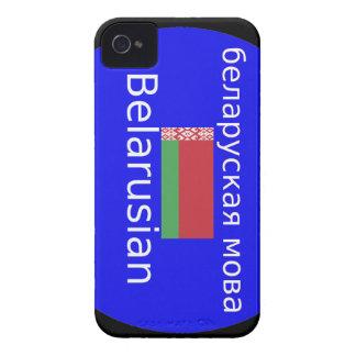 Belarus Flag And Language Design iPhone 4 Cover