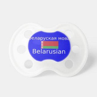 Belarus Flag And Language Design Pacifier