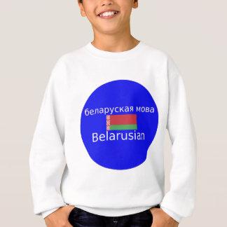 Belarus Flag And Language Design Sweatshirt