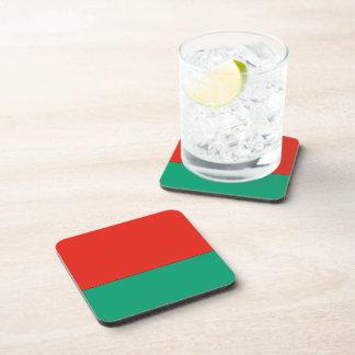 Belarus Flag Beverage Coaster