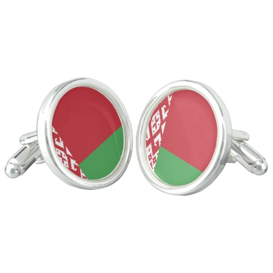 Belarus Flag Cufflinks