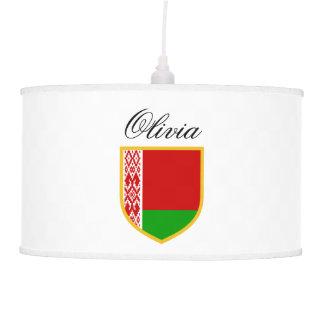 Belarus Flag Hanging Lamp