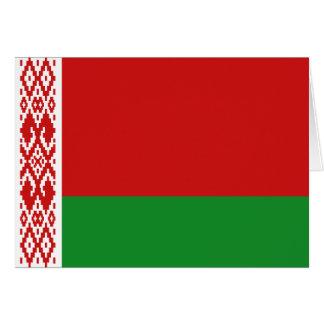 Belarus Flag Notecard