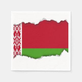 Belarus Flag Paper Napkins