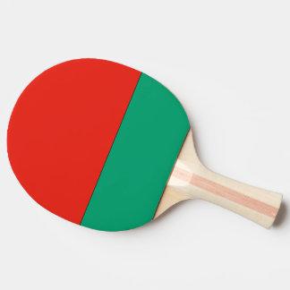 Belarus Flag Ping-Pong Paddle