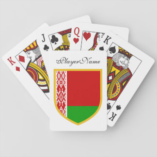 Belarus Flag Playing Cards
