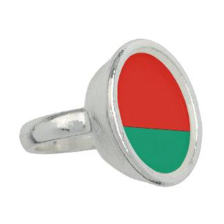 Belarus Flag Ring