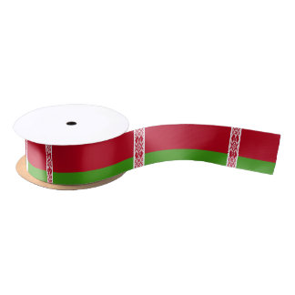 Belarus Flag Satin Ribbon