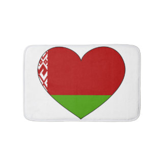 Belarus Flag Simple Bath Mat