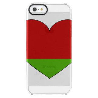 Belarus Flag Simple Clear iPhone SE/5/5s Case