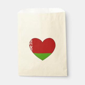 Belarus Flag Simple Favour Bag