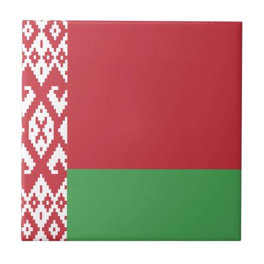 Belarus Flag Tile