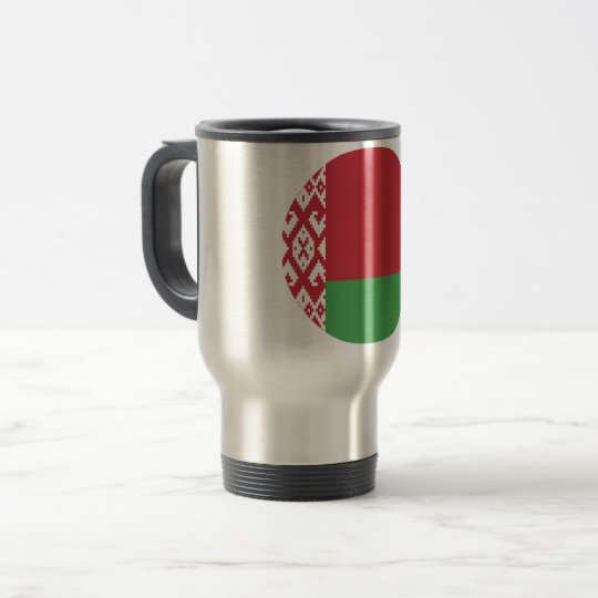 Belarus Flag Travel Mug