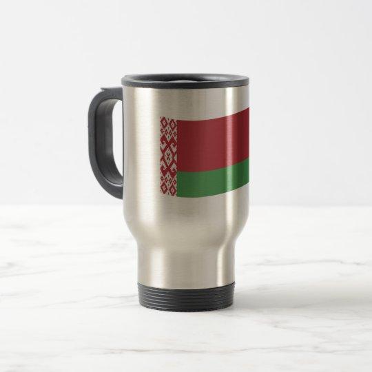 Belarus Flag Travel Mug