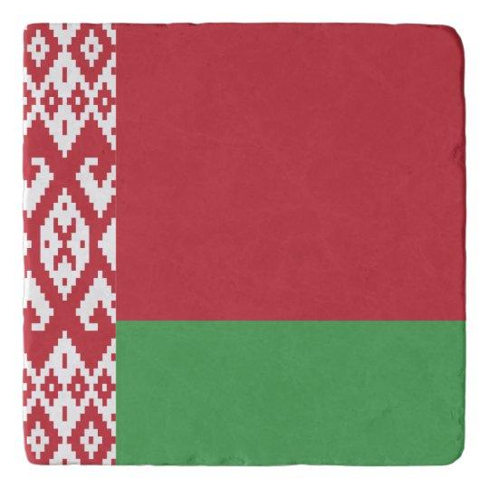 Belarus Flag Trivet