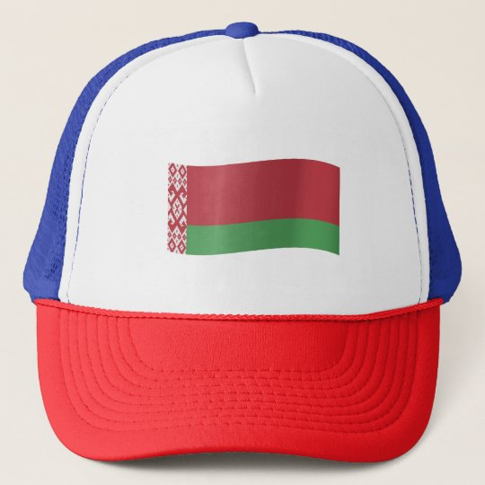 Belarus Flag Trucker Hat