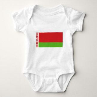 Belarus National  Flag Baby Bodysuit