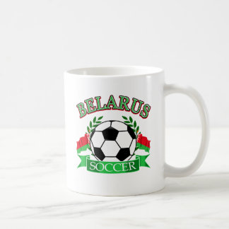 Belarus soccer ball designs coffee mug