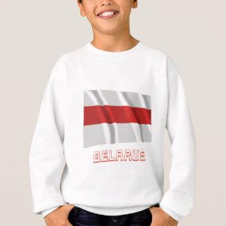 Belarus Traditional Waving Flag with Name Sweatshirt