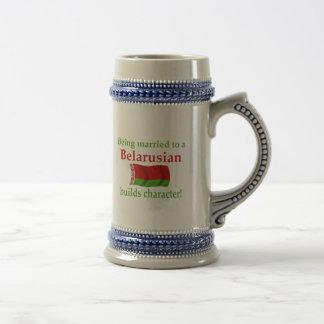 Belarusian Builds Character 18 Oz Beer Stein
