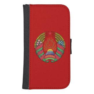 Belarusian flag samsung s4 wallet case