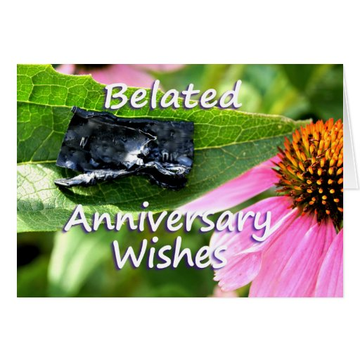 Belated Anniversary Apology2-customize Card