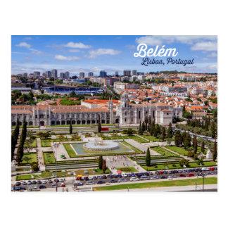 Belém, Lisbon, Portugal Postcard