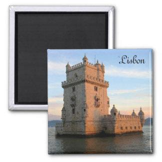 Belem Tower in Lisbon Magnet