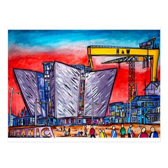 Belfast  Alive- Titanic Quarter Postcard