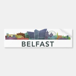Belfast bumber sticker