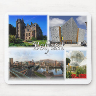 Belfast Northern Ireland Mouse Pad