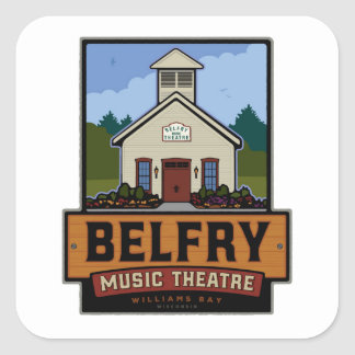Belfry Full Logo Square Sticker