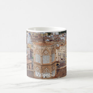 Belfry Micalet and the historical part of Valencia Coffee Mug